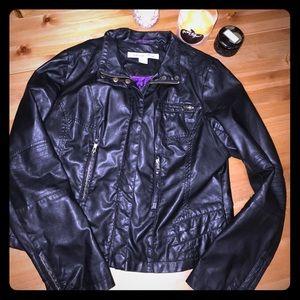 Moto Jacket - Faux Leather