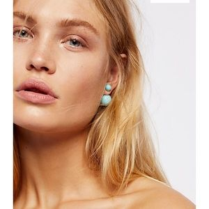 28f13a210 Free People Jewelry - Free People double sided orbit studs earrings