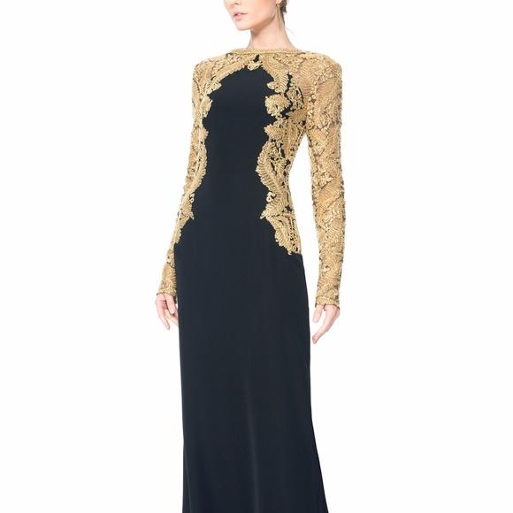 Tadashi Shoji Dresses   Nwot Kinglet Gown   Poshmark