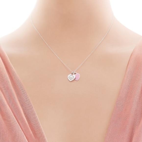 e3d2f18c2 Tiffany & Co. Jewelry | Nwt Return To Tiffany Mini Double Heart ...