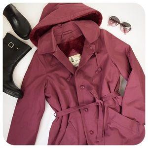 {{ London Fog }} Vintage Fleece Lined Trench Coat