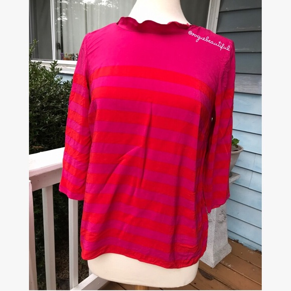 sale uk fresh styles a few days away Boden Tops | Red Pink Striped Top | Poshmark