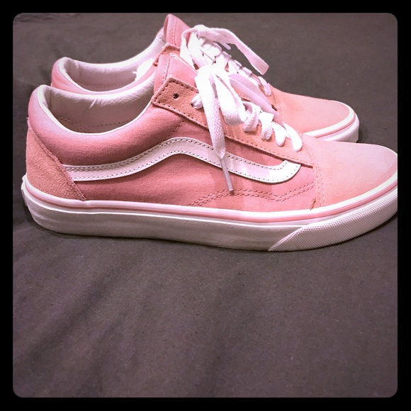 19c396b3bb Vans Old Skool Blush Pink Suede. M 59f1651fc28456d26a026cd1. Other Shoes ...