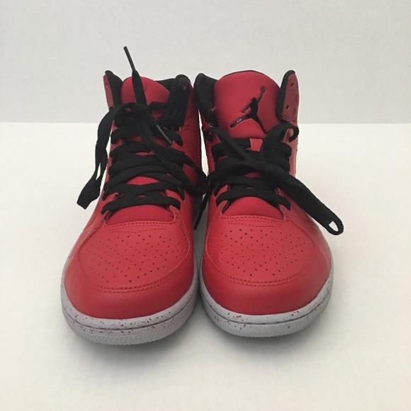 100% authentic aef61 3a48d New Red and Black Jordan 1 Flight 3 Prem Shoes