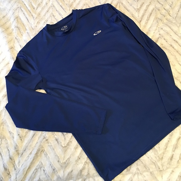 8fa9826e Champion Shirts & Tops | Nwot Royal Blue Athletic Long Sleeve | Poshmark