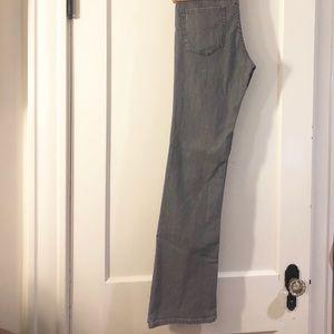 Paper Denim & Cloth Jeans - Gray Low Rise Bootcut Jeans by Paper Denim & Cloth