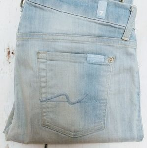 7 for all mankind The midrise skinny