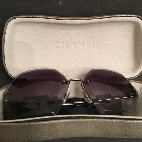 chanel 4220 sunglasses. chanel accessories - chanel 4220 gray gradient sunglasses