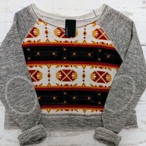 Anthropologie Dolan T-shirt sweatshirt