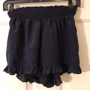 Ella Moss Navy Silk Short
