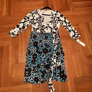 DVF Inspired wrap dress