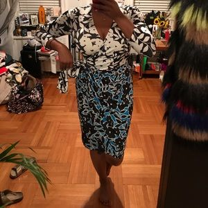 Maggy London Dresses - DVF Inspired wrap dress