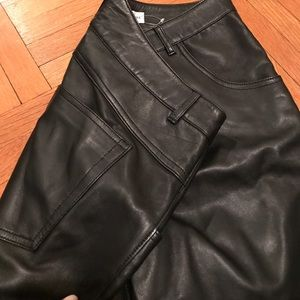 GAP Jeans - Leather gap jeans