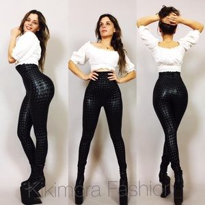 Pants - Kikimora fashion high waisted pants make to order
