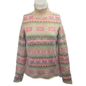 Sundance catalog sweater 100% lambswool xs