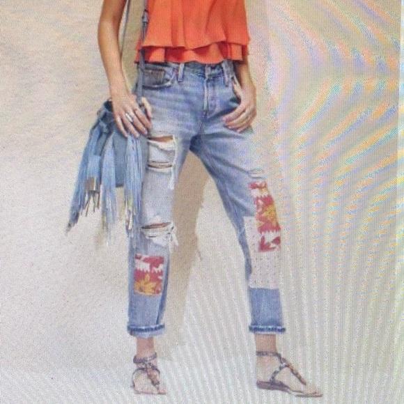 4e662867 Levi's Jeans | Levis 501 Ct Ripped Repaired Boyfriend | Poshmark