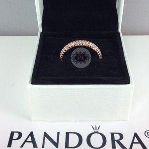 "New Boxed Pandora Inspiration Within Ring 8.5"""
