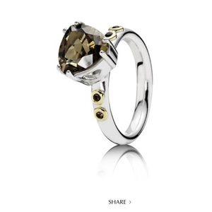 Pandora Retired Close To My Heart Ring 7