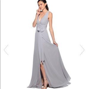 Joanna August Sarah Wrap Dress S, Silver Bells