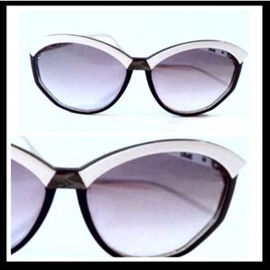 Vintage Silhouette Sunglasses, Two Tone, Austria