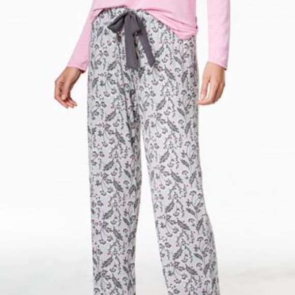 3002d8a1c8b6 Alfani Intimates Intimates & Sleepwear | Alfani Printed Knit Pajama ...