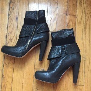 $895 Loeffler Randall Lucy Platform Boots