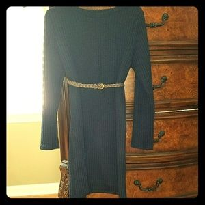 Dresses & Skirts - Navy Blue Sweater Dress