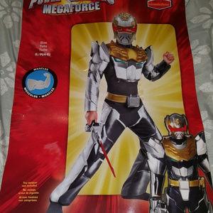 Power Rangers Megaforce Robo Knight Muscle Costume 4-6 Small New Child Halloween