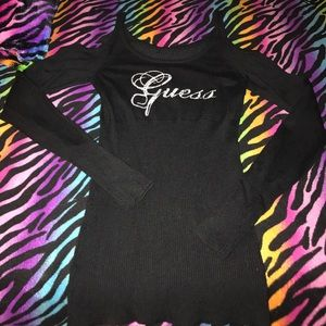 Guess Rhinestone cold-Shoulder Sweater 💎