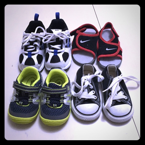 Baby Boys Shoe Lot Size 3 4c Nike