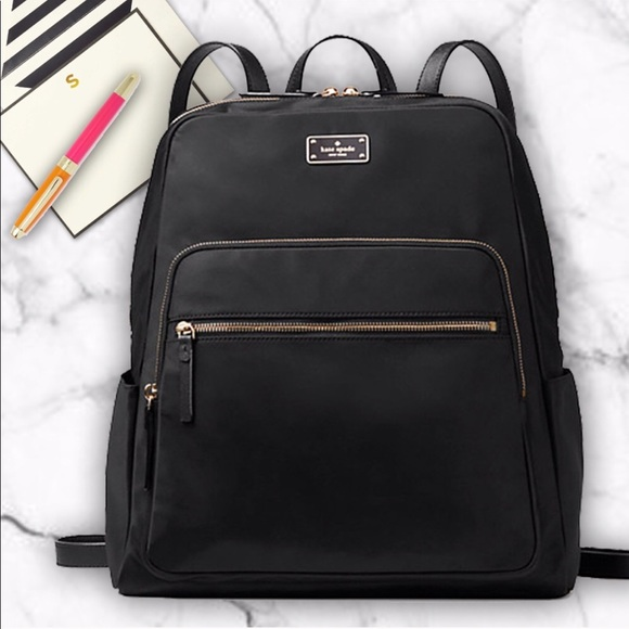 size 40 ef48a 427f3 KATE SPADE ♠️ Large Hilo Backpack & laptop sleeve