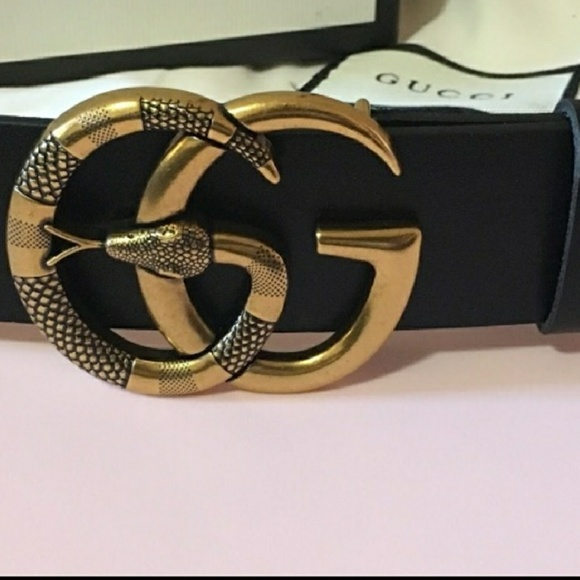 888af56535e Gucci Accessories - Womens Gucci Snake Double G Belt