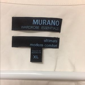 NWOT MURANO Ultimate Modern Comfort Dress Shirt