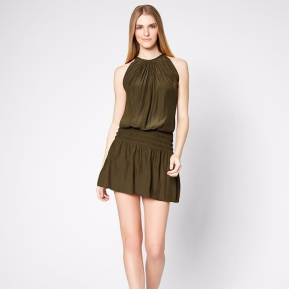 60d6129da30ba RAMY BROOK OLIVE PARIS SLEEVELESS DRESS XS. M 59f20e196d64bc58c7014153