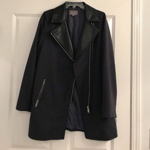 Longline moto jacket