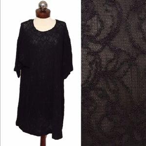 Vintage 90's BETSEY JOHNSON oversized lace dress 6