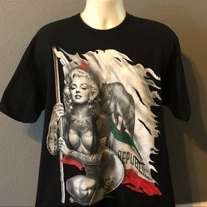 Marilyn Monroe XL t shirt Shaka Latino California