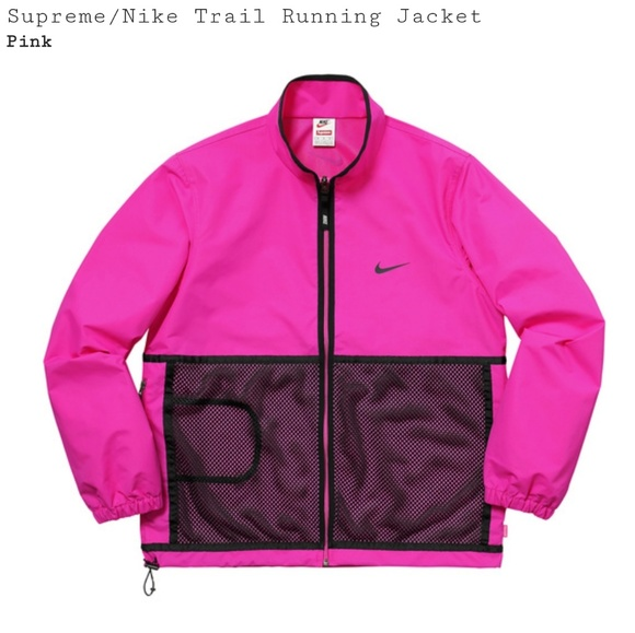 Supreme x Nike Trail Running Jacket NWT