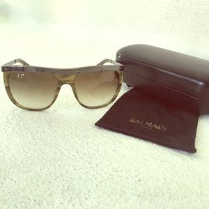 Balmain - Olive Green Sunglasses - Brand new !