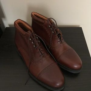 Italian Leather Chukka Boot