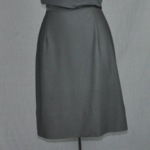 Black A-Line Above the Knee Skirt Sz: S