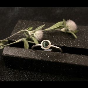 CBL Jewelry - Rare Maine Tourmaline and sterling silver ring