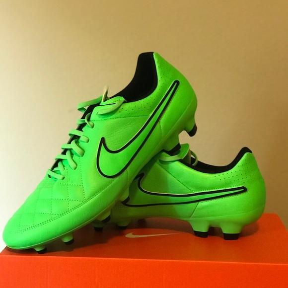 big sale 51e3a 3cb36 Nike Shoes | Mens Tiempo Genio Leather Fg Soccer Cleats | Poshmark