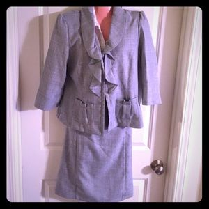 Dresses & Skirts - Classic Suit with a Girl Flair