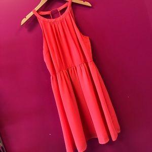 Coral Sun Dress