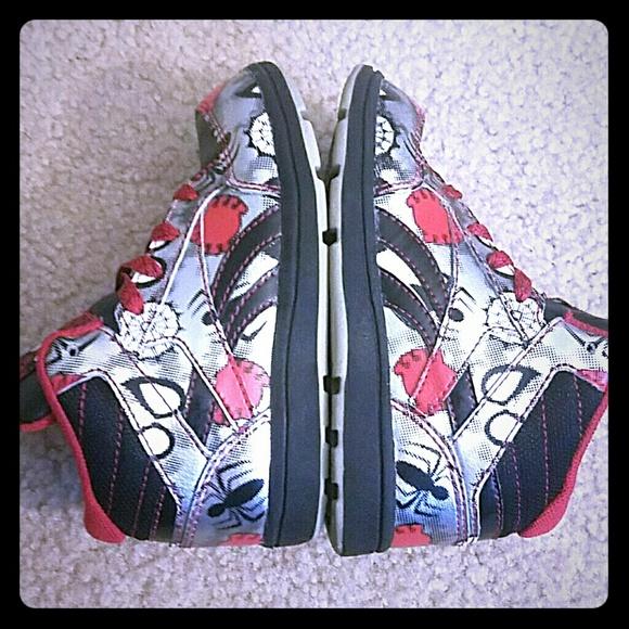 Reebok Tamaño De Los Zapatos Del Hombre Araña 10 2Vy0eDLrse