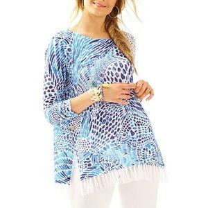 •Lilly Pulitzer• Romona Sweater in Brilliant Blue