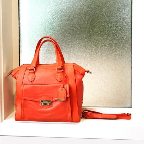 Cole Haan Handbags - Large Cole Haan Zoe Satchel Crossbody