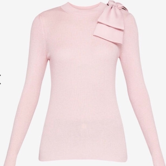 30759382d63d04 Ted Baker London Nehru Bow Detailed Sweater