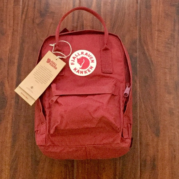 a47caff8c7 Fjallraven Deep Red Kanken Mini 7 Litre